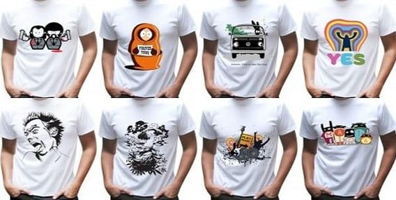 Мужская футболка для сублимации, цвет Белый