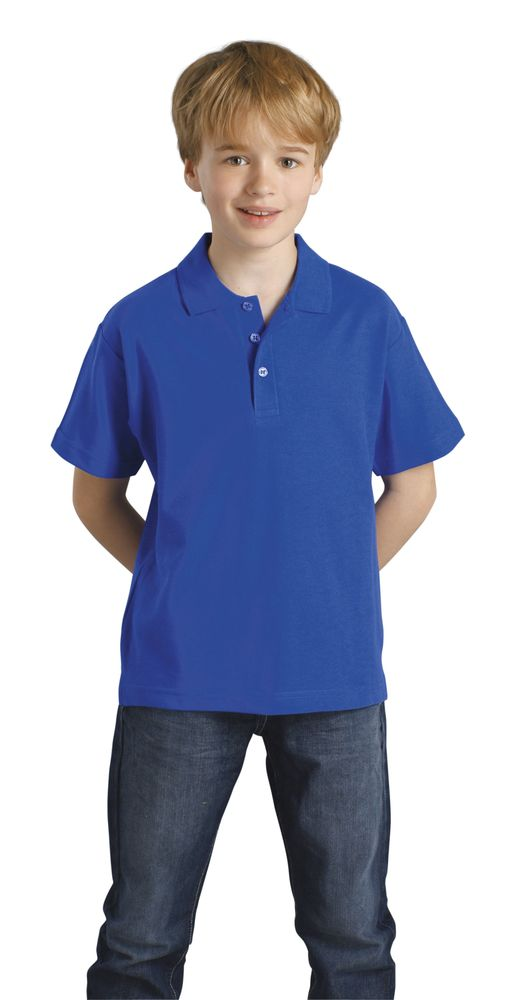 Рубашка поло детская с коротким рукавом