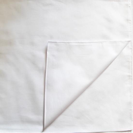 Бандана квадратная, цвет Белый