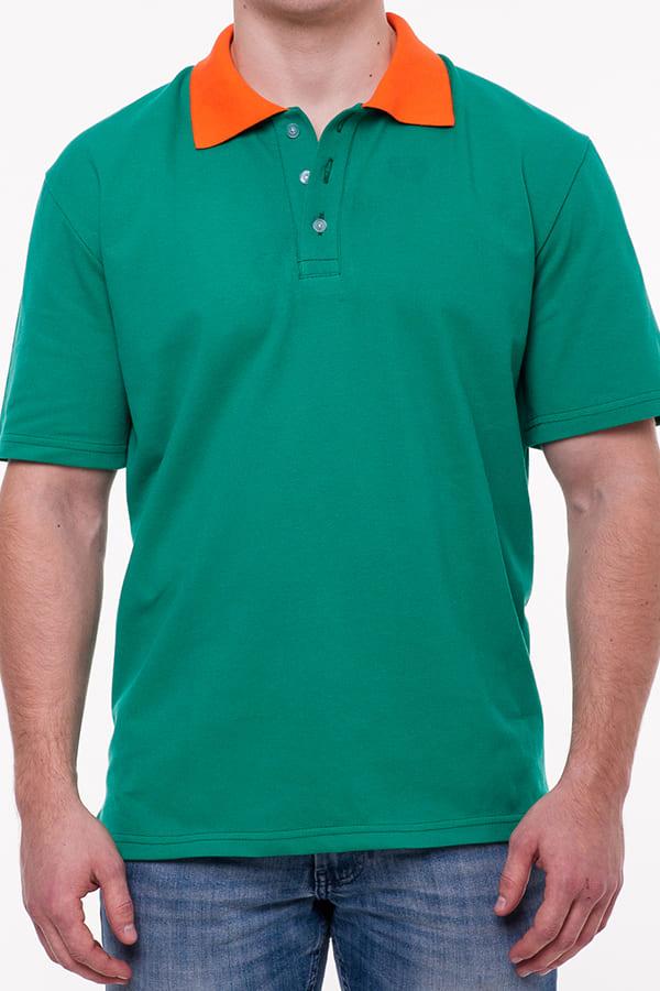 Рубашка поло мужская с коротким рукавом, цвет Белый