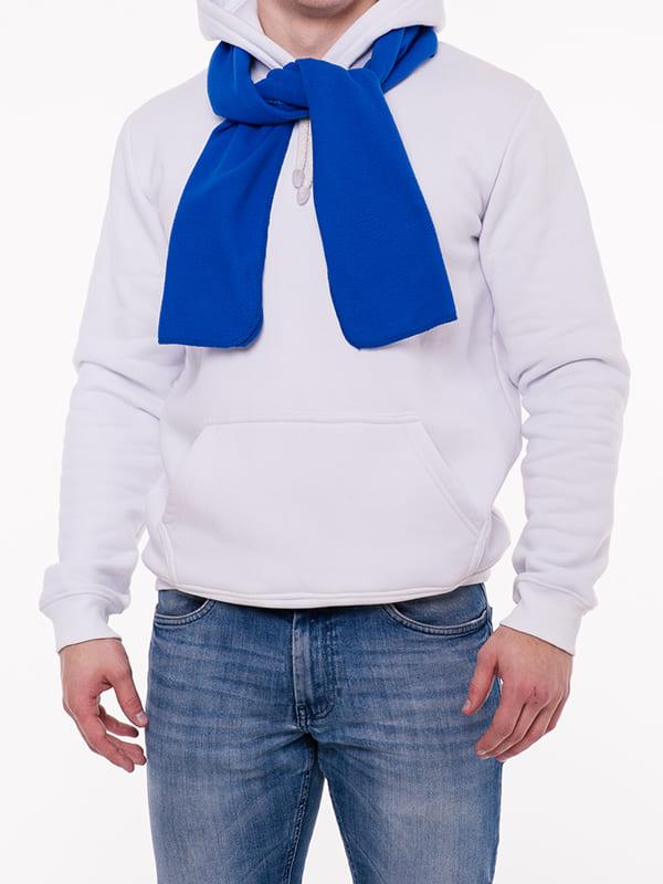 Флисовый шарф, цвет Белый
