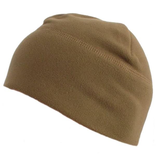 Флисовая шапка без подгиба